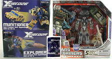 Fansproject Crossfire 02 SP Explorer Munitioner Quake Transformers Bruticus MISB