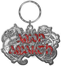 Amon Amarth PORTACHIAVI # 2 Versus the World LOGO KEYRING KEYCHAIN