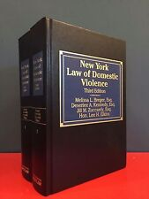 New York Law of Domestic Violence, 3rd Edition (With Supplement)