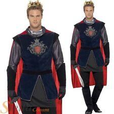 adulte de luxe roi Arthur costume pour hommes chevalier médiéval Prince