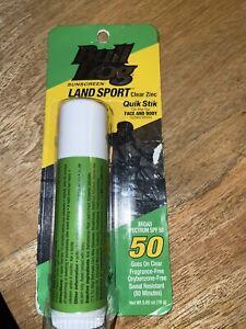 Bullfrog Land Sport Quik Stik SPF 50 Sunscreen Stick