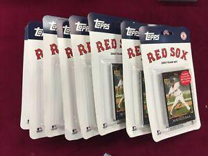 2007 Boston Red Sox Team Set x7 World Series Championship Year Dice-K RC