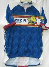 Primal Wear Laughing Lab print cycling jersey w/ 3 back pockets men's size XL