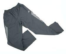 New Balance Mens Gray Running Pants Ankle Zip Lightweight 3 Pocket Drawstring M
