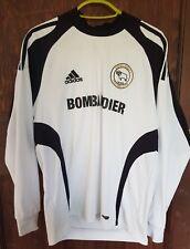 Derby County Adidas Camisa Casa 2008-09, XL chicos, buen estado, de manga larga