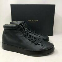 NIB $350 Rag & Bone RB1 High-Top Leather Sneaker size:US13 EU46