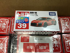 Takara Tomy Tomica #39 Audi R8 Red 1/62 Diecast Toy Car
