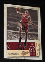 2004 Fleer/Skybox Authentix Cleveland Cavaliers LeBron James #49 Brand New/ RARE