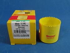 "Starrett Bohrkrone Zylindersäge 48mm (1.7/8"") HSS-Bimetall NEU"