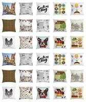 German Throw Pillow Cases Cushion Covers by Ambesonne Home Decor 8 Sizes