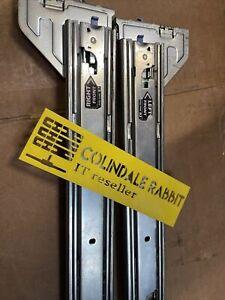 Dell PowerEdge R715 R810 R815 R910 R5500 Rack Rails KIT D157M / W647K B2 2U