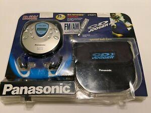 NEW Panasonic SL-SV603J Portable CD AM/FM CD Player Jogger Set SEALED