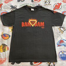 """Bam Bam Bigelow """"Beast From The East"""" T-Shirt ECW 1995 Men's L VTG 1998 Original"""