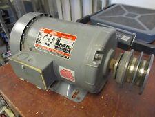 Dayton Tri-Volt Motor 3N549A 1HP 1150RPM 208-230/460V 3.8-4.0/2.0A Used