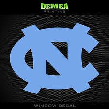 "UNC - North Carolina Tar Heels - NCAA - Lt. Blue Vinyl Sticker Decal 5"""