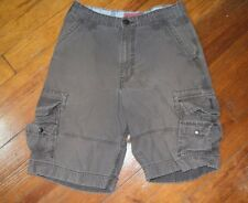 LEVI'S DUNGAREES CARGO SHORTS GREEN MEN'S SIZE 31