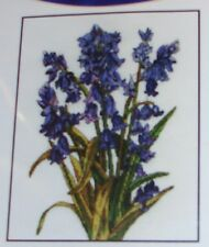 "DMC ""BLUEBELLS"" Counted Cross Stitch Kit- Comb. Ship. Offered -BK1178"