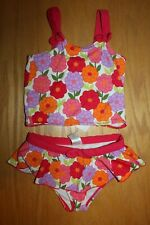 NWT Gymboree Pretty Posies size 6 Pink Flower Swim Tankini Swimsuit