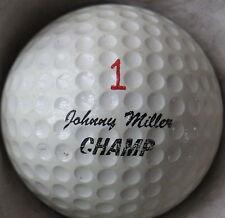 (1) Johnny Miller Signature Logo Golf Ball (Wilson Champ Cir 1971) #1
