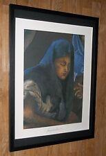 Giampaolo Talani stampa, Ritratto Wall Art, 50x70cm, Incorniciato arte religiosa
