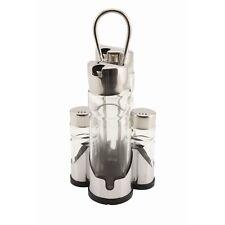 Salt/Pepper Glass Pot Spare Shaker Diner Cafe Pub Dispenser Salt Pepper