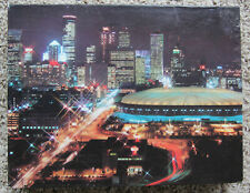 Great American Puzzle Factory MINNEAPOLIS BY NIGHT 550 Pc Jigsaw Vtg 1988 Twins