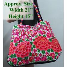 Ethnic Hmong Vintage Style Tote Asian Asiatic Shoulder Bag Sac Cyst Bladder Poke