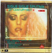 "SIGUE SIGUE SPUTNIK - 7"" - 21st Century Boy + Poster.  Parlophone"
