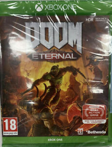 Doom Eternal Xbox One Game - New and Sealed
