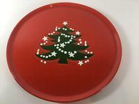 """Waechtersbach Platter Christmas Tree 12 1/4"""" Round Serving Tray Chop Cake Plate"""