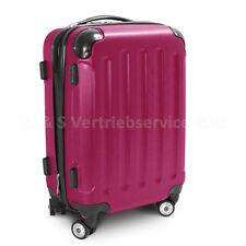 "Handgepäck Boardcase Cabin Reisekoffer Größe M Modell ""STRIPES"" - PINK"