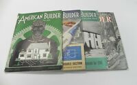 AMERICAN BUILDER MAGAZINE JUNE (LOT OF 4) *GOOD CONDITION*