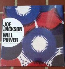 JOE JACKSON, WILL POWER; INSTRUMENTAL ALBUM FROM 1987, STILL SEALED