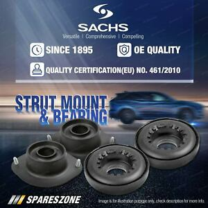 2x Front Sachs Top Strut Mount + Anti-Friction Bearing Kit for Audi 80 90 Fox