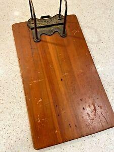 Vintage The Globe-Wernicke Cincinnati Oh Columbia File Holder Clip Board