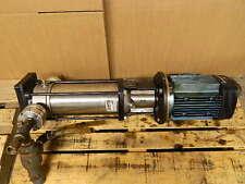 Grundfos Edm Flushing Pump And Motor A960b3644 P10b27274 3hp