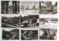 SCHWARZWALD Black Forest Lot 9x s/w AK ua. Feldberg, Herrenalb, Wildbad uvm.
