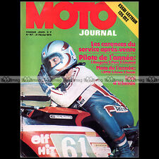 MOTO JOURNAL N°157 MICHEL ROUGERIE MZ 125 ETS BMW R90 S HURST CUP TRIAL 1974