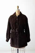 Gap corduroy jacket brown belted coat size S/P