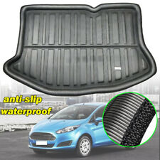 1x For Ford Fiesta 11-19 Hatch Rear Trunk Boot Liner Cargo Mat Tray Floor Carpet