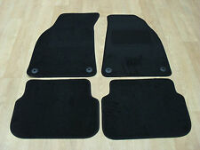 Audi A6 *NOT QUATTRO* (2004-2009) Fully Tailored Car Mats in Black