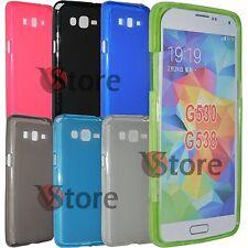 Cover Custodia Per Samsung Galaxy Grand Prime G530 Gel Silicone TPU + Pellicola
