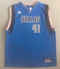 NBA Dallas Mavericks Dirk Nowitzki Jersey Retail $55