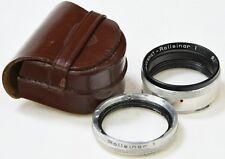 ROLLEI R1 Rolleinar 1 + Rolleiparkeil 1 + Case - Close Up Set - Rolleiflex -