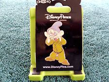 Disney * Dopey - Jeweled Eyes * New on Card Snow White & Seven DwarfsTrading Pin