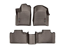 WeatherTech FloorLiner for Jeep Grand Cherokee Past March 2015 1st 2nd Row Cocoa