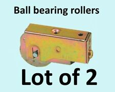 PATIO DOOR STEEL ROLLER ASSEMBLY Lot of 2