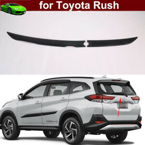 Carton Fiber Car Back Rear Trunk Lid Cover Mould Trim for Toyota Rush 2018-2021
