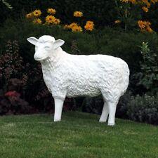 SCHAF 75 cm ROHLING Deko Figur Tier Garten Bauernhof SELBST BEMALEN Dekoration