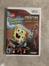 SpongeBob SquarePants: Creature from the Krusty Krab (Nintendo Wii, 2006)